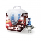Лампа галогенная AVS SIRIUS NIGHT WAY H4.12V.60/55W Plastic box -2 шт.