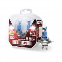 Лампа галогенная AVS SIRIUS NIGHT WAY / PB H4.12V.60/55W Plastic box -2 шт.