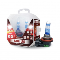 Лампа галогенная AVS SIRIUS NIGHT WAY / PB H11.12V.55W Plastic box -2 шт.