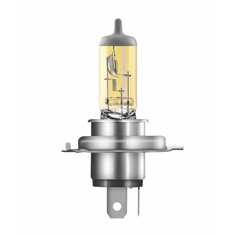 Лампа галогенная AVS ATLAS ANTI-FOG / желтый H4.12V.60/55W (блистер, 2 шт.)
